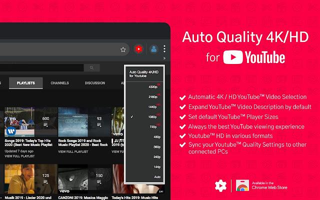 Auto Quality 4K/HD