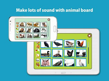 Kids Zoo,Animal Sounds & Photo Screenshot 13