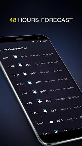 Local Weather Forecast & Visual Widget  screenshots 4