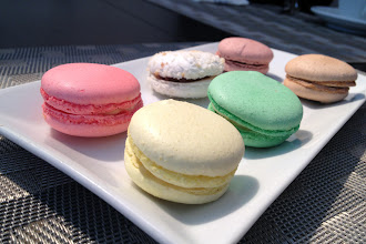 Photo: Colorful macarons in Montreal