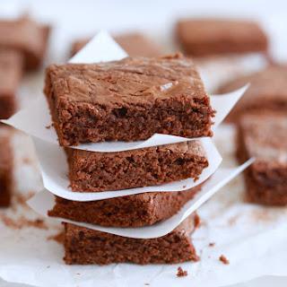3 Ingredients Nutella Brownies Recipe