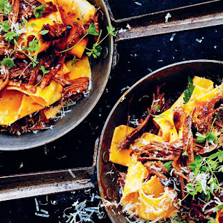 Pappardelle with Slow-Cooked Brisket recipe | Epicurious.com.