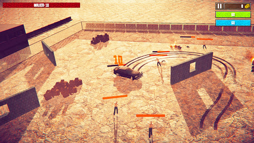 Code Triche crazy driver crash zombie crusher apocalypse jeu APK MOD screenshots 3