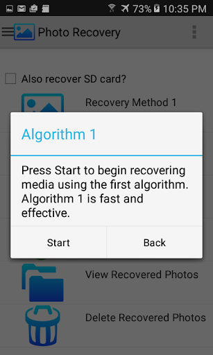 Photo Recovery 13.2 screenshots 2