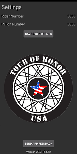 Tour of Honor 2020