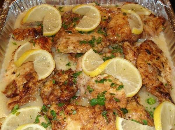 Chicken Francaise (may Use Flounder Or Veal) Recipe