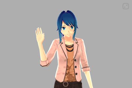 Anime Girl Pose 3D screenshot 4