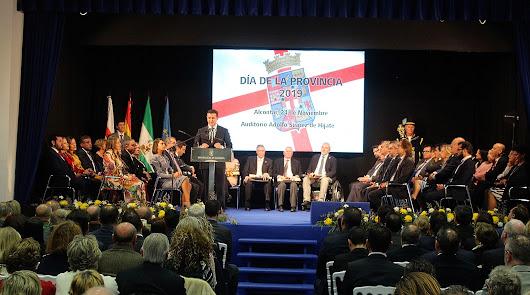 El Día de la Provincia ensalza los valores que unen a los almerienses