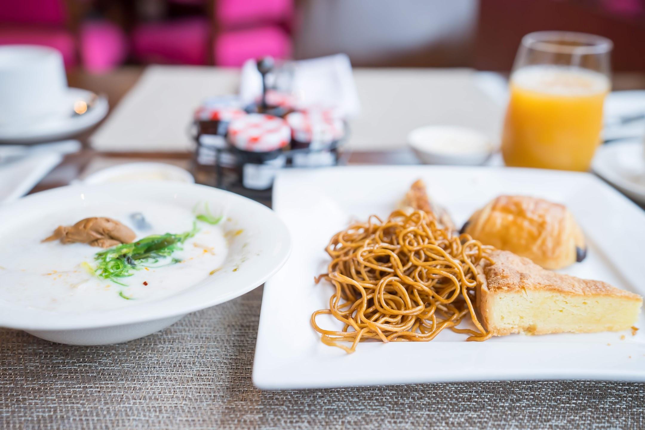 Sofitel Shanghai Hyland 朝食