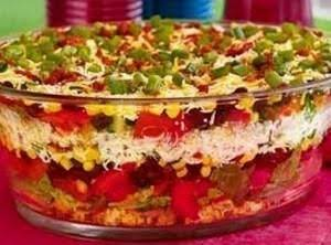 Chili Corn Bread Salad Recipe