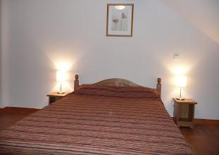 Photo: Chambre double d'un appartement de la résidence Copyright M.VANNESSON