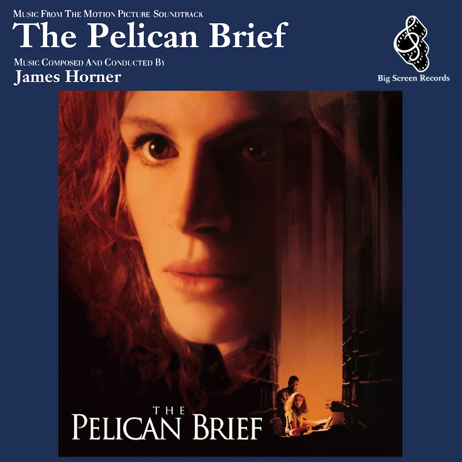 Album Artist: James Horner / Album Title: The Pelican Brief (Music from the Motion Picture Soundtrack)