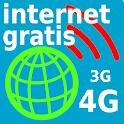 INTERNET GRATIS 3G-4G icon