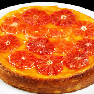 Blood Orange Ricotta Cheesecake