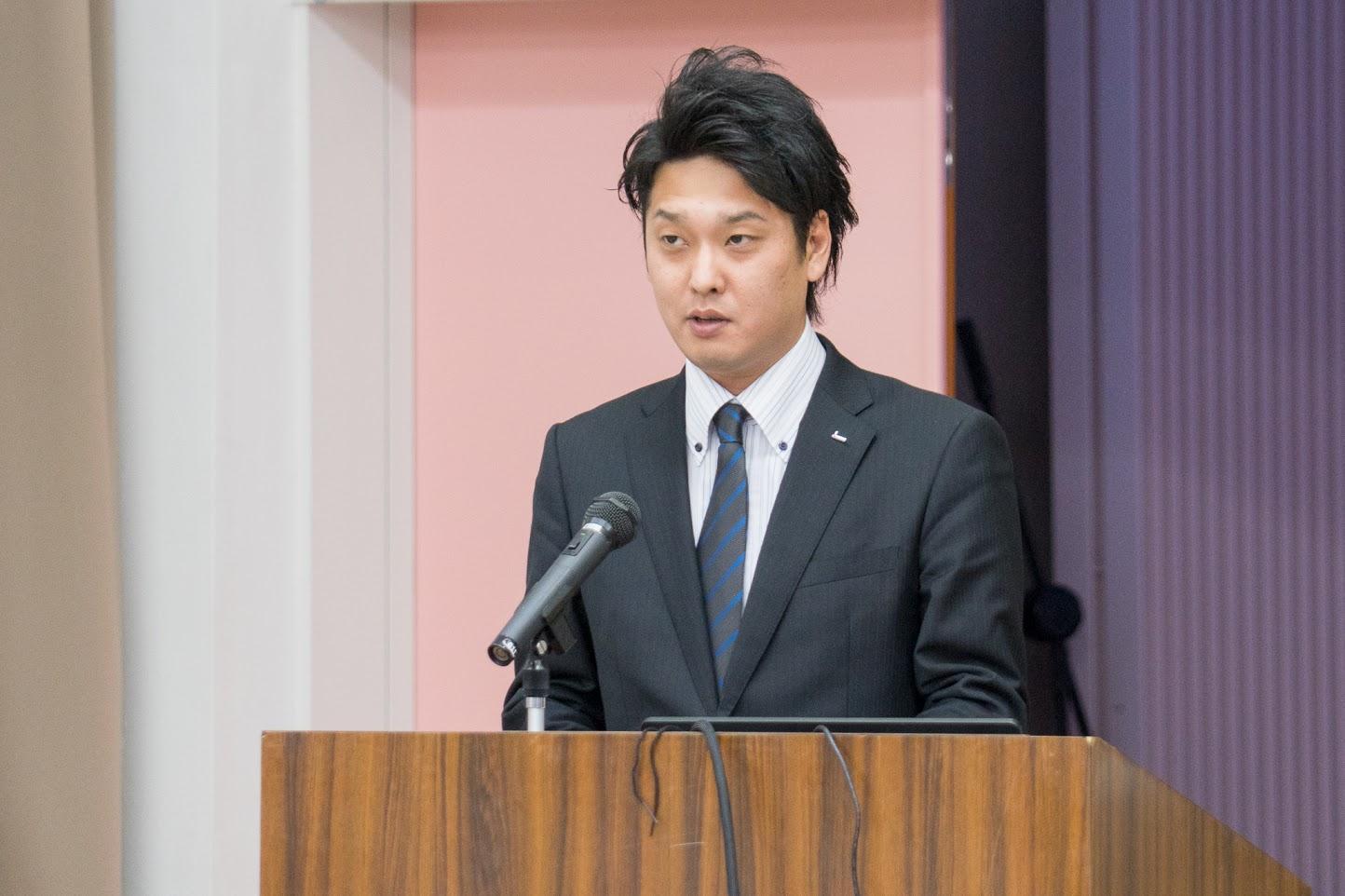 総合司会:空知管内商工会青年部連合会・加藤真悟 副会長