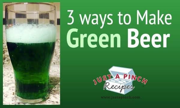 Three Ways to Make Green Beer