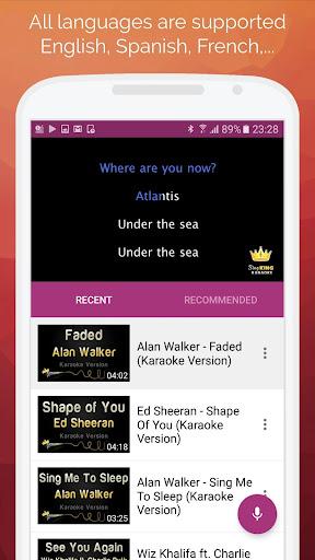 Karaoke 2019: Sing & Record 7.8.0 screenshots 2