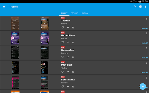 Themes for Telegram  screenshots 9