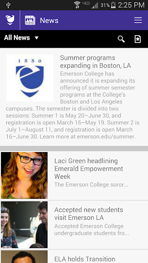 emerson college summer programs