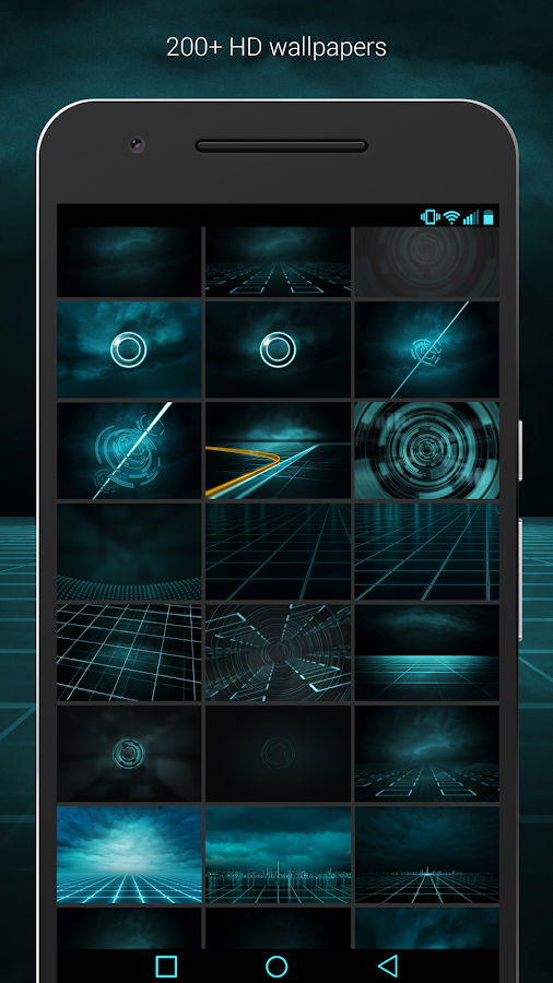 The Grid - Icon Pack (Pro Version)- screenshot