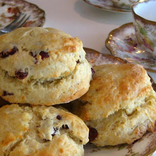 CRANBERRY TEA SCONES
