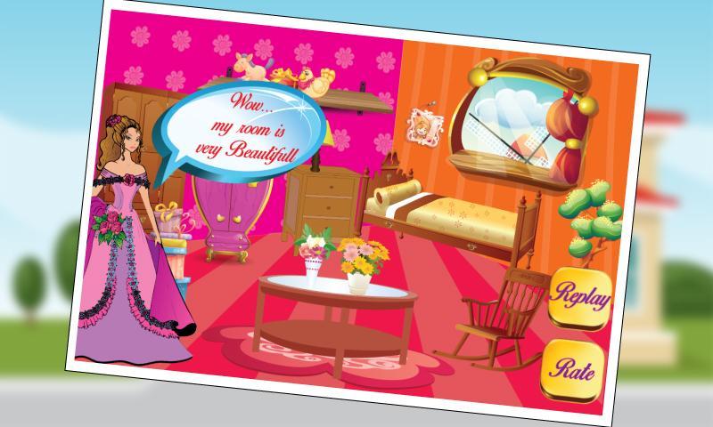 Princess Room Makeover Game  screenshot. Princess Room Makeover Game   Android Apps on Google Play
