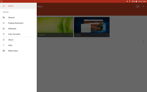Microsoft Remote Desktop Beta 8.1.62.347 screenshots 10