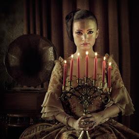 The Silent Light by Zaldy Tsubasa - People Portraits of Women