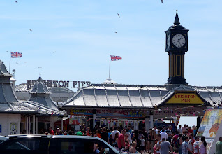Photo: Brighton pier, like the sign says