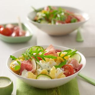 Nudel-Rucola-Salat