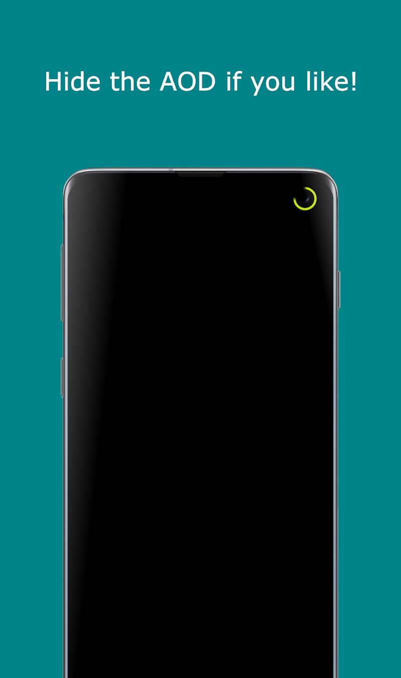 Notification Light / LED Note10, S10 - aodNotify Screenshot 1