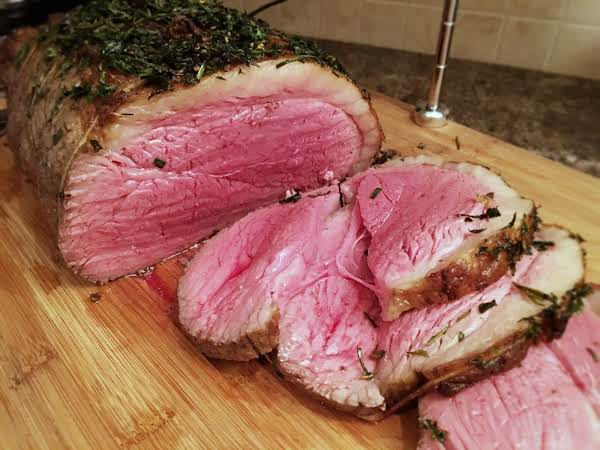 Roast Beef With Fresh Herbs Recipe