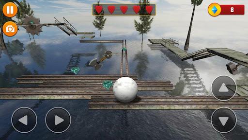 Code Triche Balancer Ball 3D: Rolling Escape  APK MOD (Astuce) screenshots 4