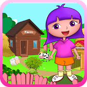 Sofia animals farm house games