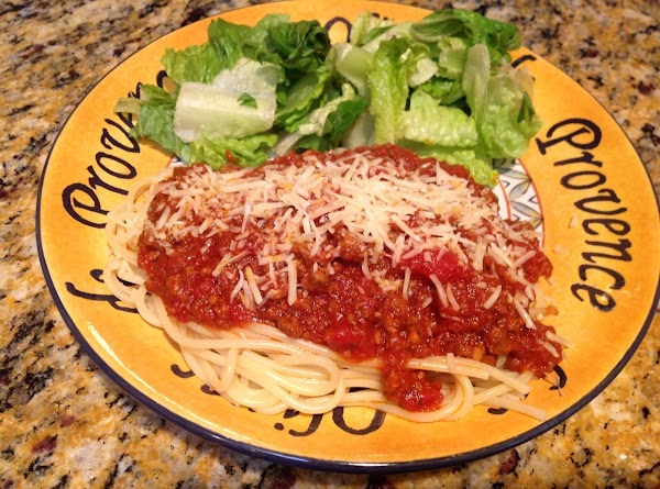 Simple Homemade Spaghetti Sauce Recipe
