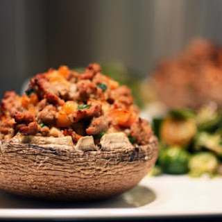 Stuffed Portabella Mushroom Caps Recipe