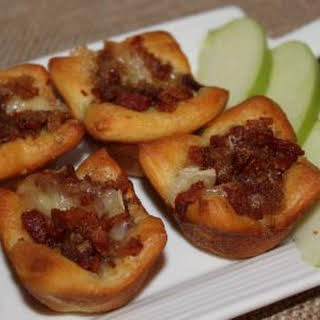 Bacon Brie Tarts.