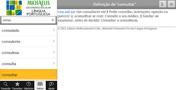 Michaelis Escolar Português- screenshot thumbnail
