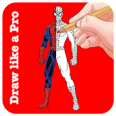 How To Draw Spider-Man ( Full Body )