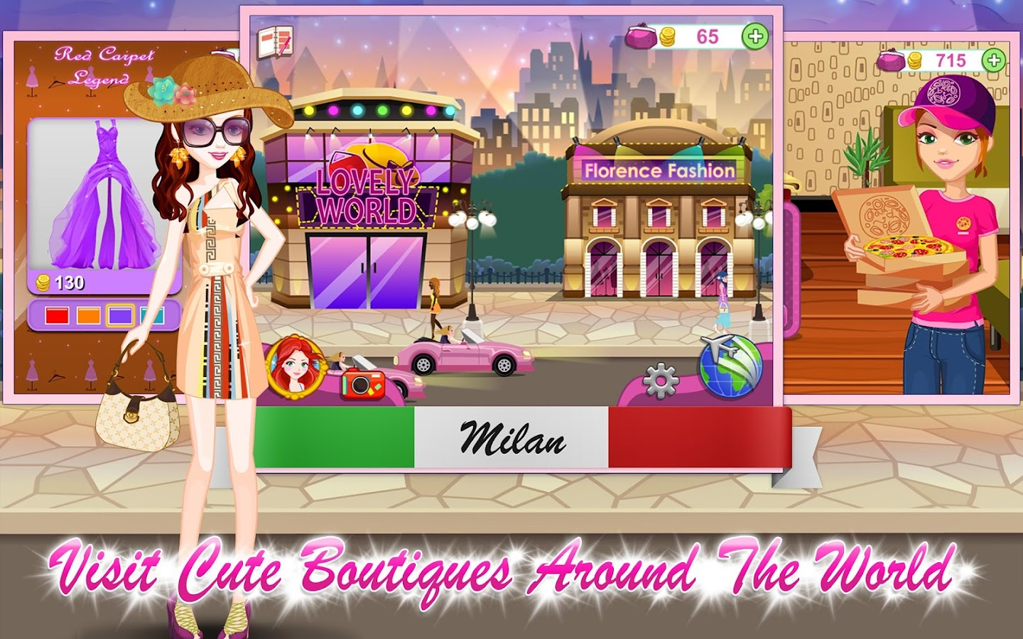 Shopaholic World: Dress Up- screenshot