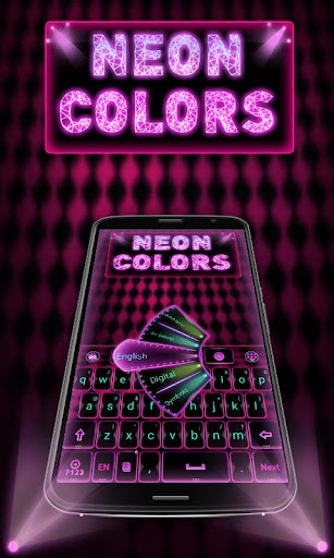 Neon Colors GO Keyboard Theme