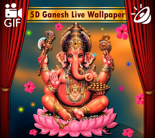 5D Ganesh Live Wallpaper - Lord Ganesh, Hindu gods 1.0.3 screenshots 9