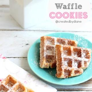 Lemon Waffle Cookies