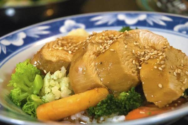 Teriyaki Chicken Bowl With Rice & Veggies Recipe