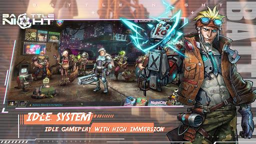 Battle Night: Cyber Squad-Idle RPG  screenshots 3