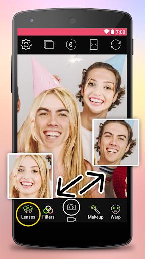 Yoplala sweet filter camera to snap video & photo  screenshots 5