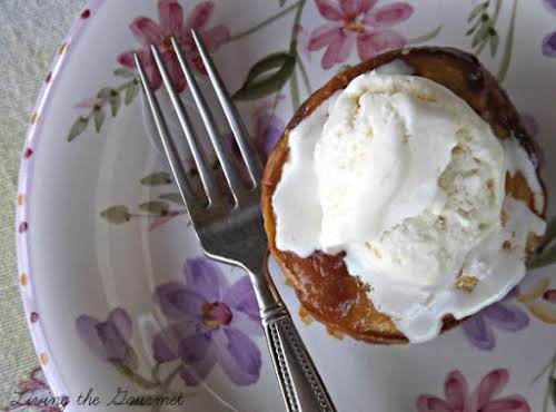 "Baked Peaches and Cream ""This is a classic Summer dish that is..."