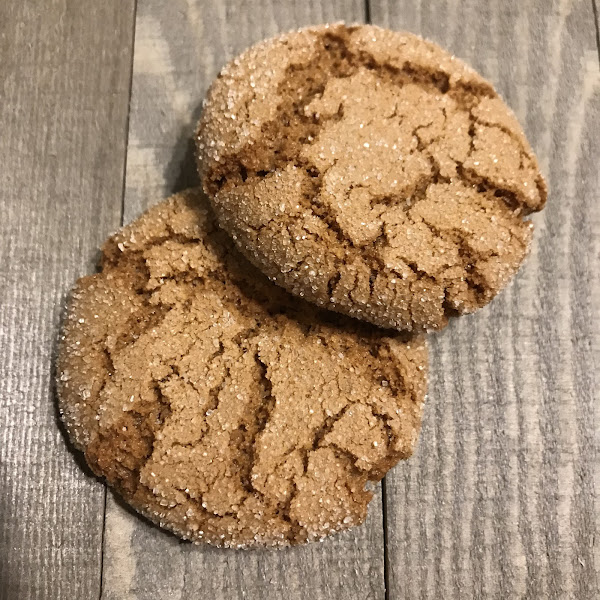 Ginger Cookies. Outside the Breadbox.