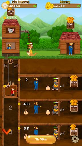 Animal Miner - Idle Tycoon  captures d'écran 1
