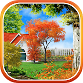Autumn Garden Live Wallpaper